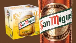 New San Miguel bottle