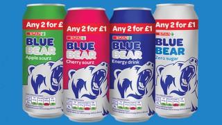 Spar Brand energy drinks