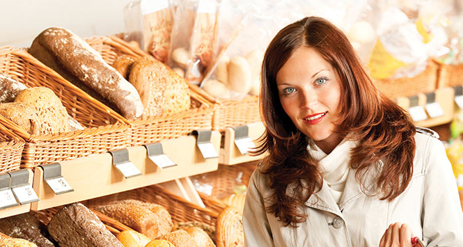 Bakery shopping