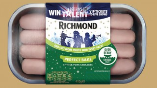 Britain's Got Talent promo pack of Richmond Sausages