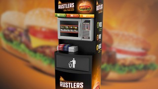 Rustlers Hot Food to Go unit