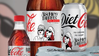 Absolutely Fabulous Diet Coke range