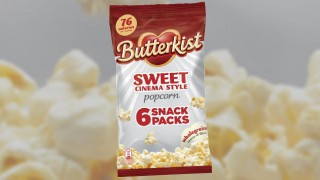 Butterkist Sweet Cinema-style popcorn