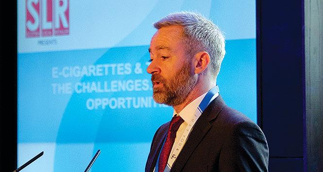 Antony Begley addresses e-cigs seminar