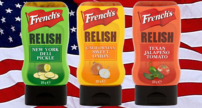 French's relish range