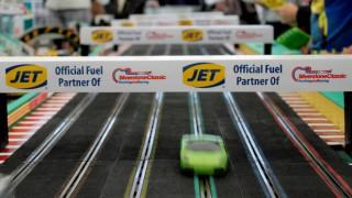 JET-branded slot car racing