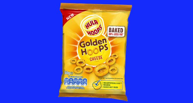 Hula Hoops Golden Hoops