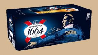Cantona-branded Kronenbourg 1664 pack