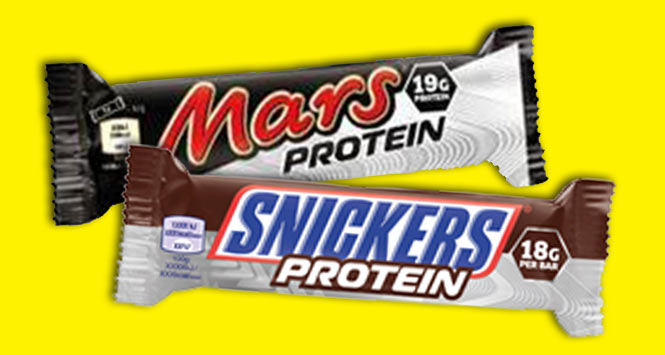 Mars Protein bar with Snickers Protein bar