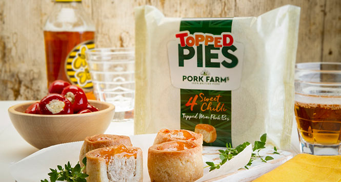 Pork Farms Topped Pies