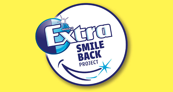 Wrigleys extra puts the smile back on childrens faces scottish wrigleys extra smile back project logo thecheapjerseys Image collections