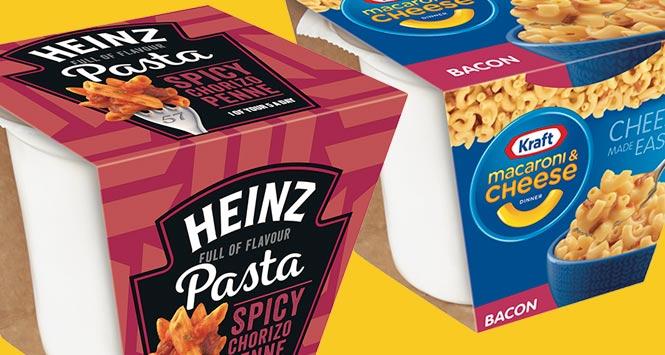 Heinz Pasta pot with Kraft Mac n Cheese