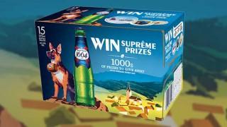 Kronenbourg 'Alsace-tians' promotional packs