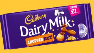 Cadbury Dairy Milk Chopped Nut tablet