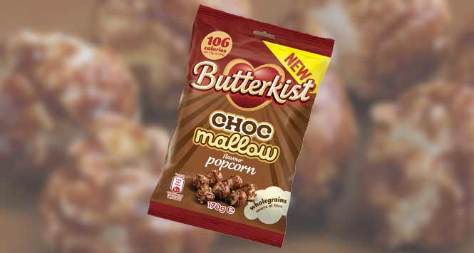 Butterkist Choc Mallow popcorn