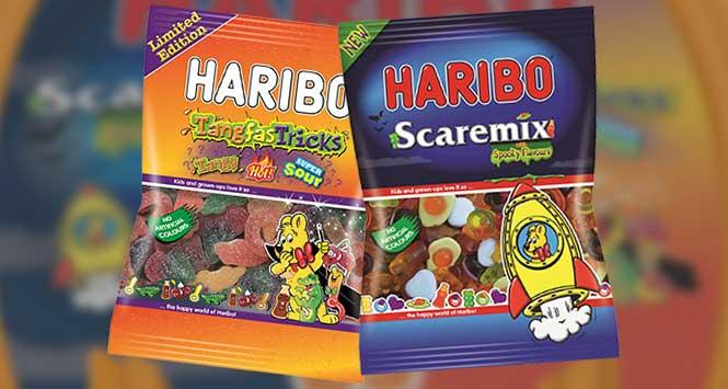 Haribo Tangfastricks and Scaremix