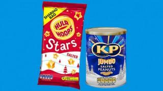 KP Nuts and Hula Hoops