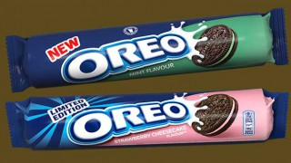 Oreo Mint and Strawberry Cheesecake packs