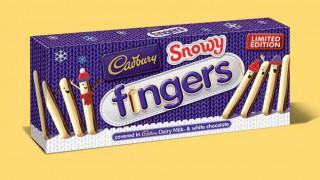 Cadbury Snowy Fingers