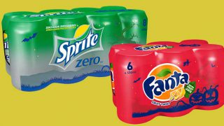 Fanta and Sprite Halloween packs