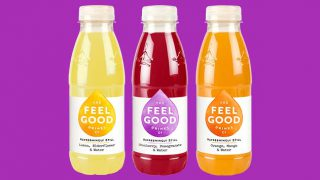 Feel Good adult soft drinks