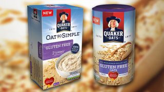 Quaker Oats gluten-free range