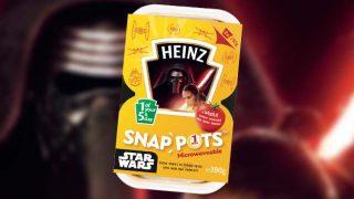 Star Wars themed Heinz Duo Pots