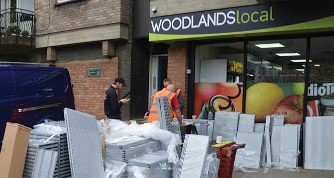 Shopfitters at Woodlands Local