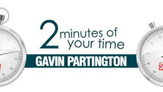 2 minutes of your time: Gavin Partington