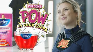 Tetley's Awesome Woman