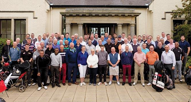 SGF Golf Day 2016 participants
