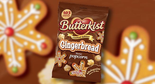 Butterkist Gingerbread flavour