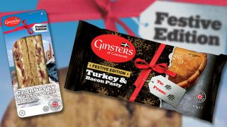 Ginsters' Festive Range