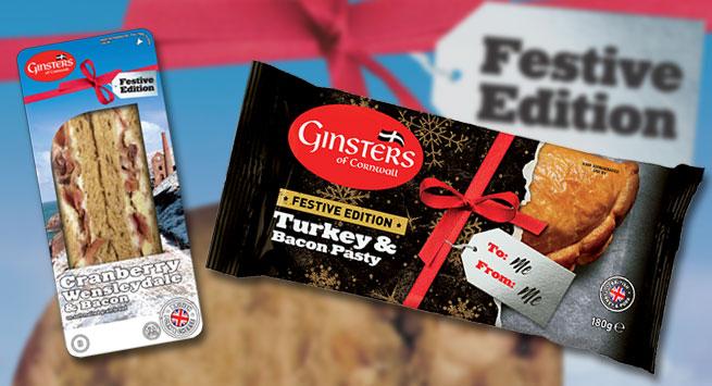 Ginsters' Festive Range