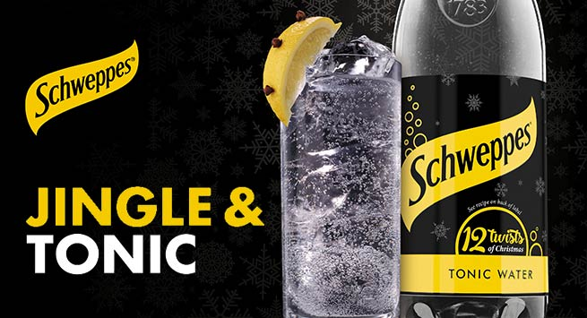 A Twist Of Christmas.Schweppes Brings A Twist To Christmas Scottish Local Retailer
