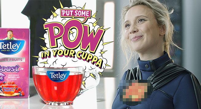 Tetley's new superhero