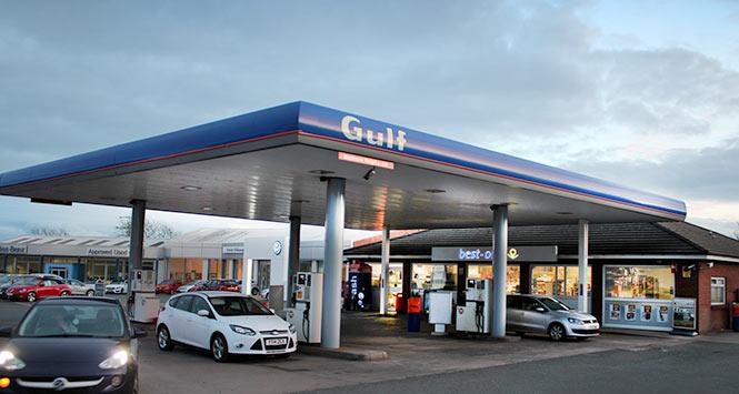 Gulf forecourt