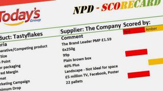 Today's NPD scorecard