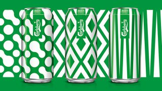 Cans from Carlsberg's København Collection
