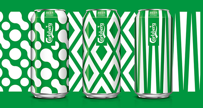 Cans from Carlsberg's København Collection