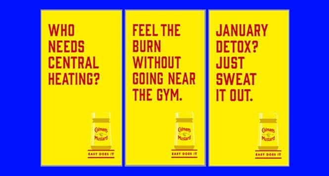 Colman's Mustard posters