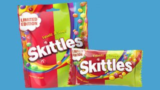 Skittles Fruits and Sours