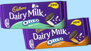 Cadbury Dairy Milk Oreo bars