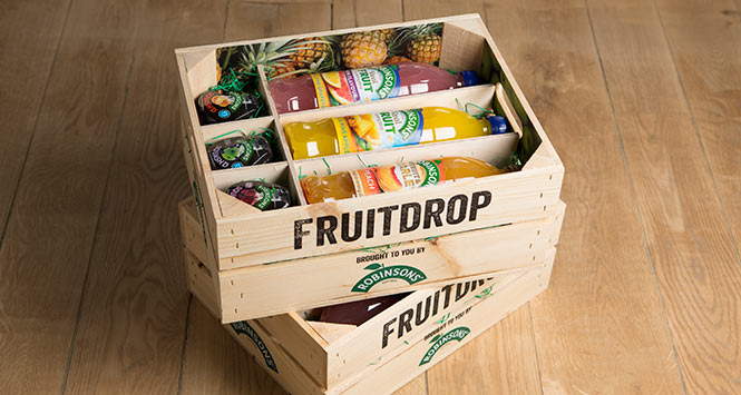 Robinsons fruit drop box