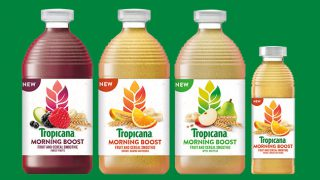 Tropicana Morning Boost range
