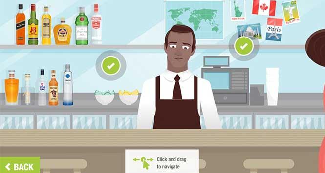 Diageo's DRINKiQ online tool