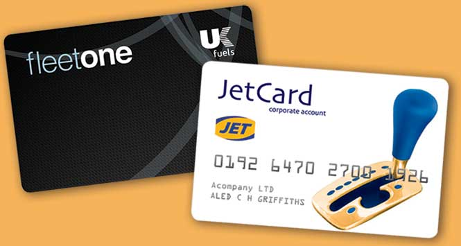 JetCard and Fleetone cards