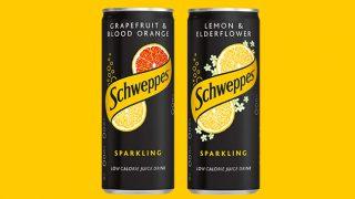 Schweppes Sparkling Juice Drinks