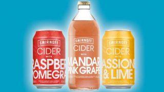 Smirnoff fruit cider