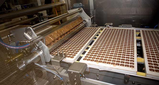 Cadbury production line